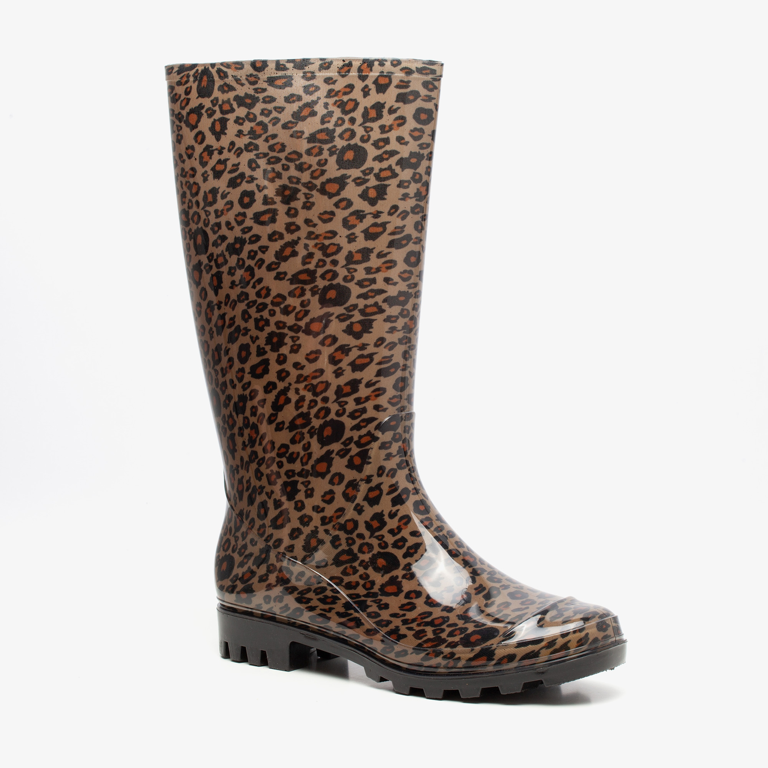 Mountain Peak dames regenlaarzen met luipaardprint | Scapino.nl