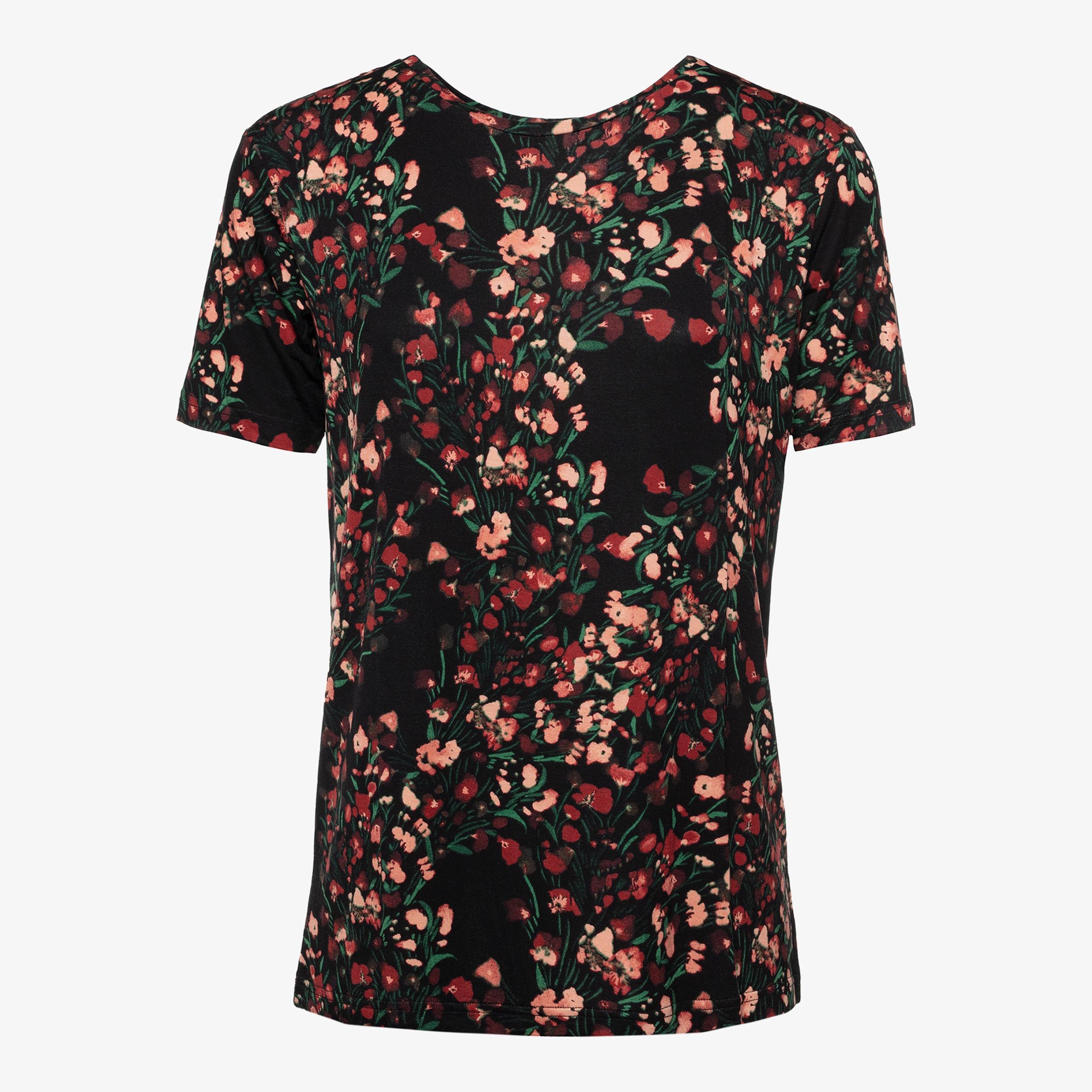 Jazlyn dames T shirt met luipaardprint online bestellen