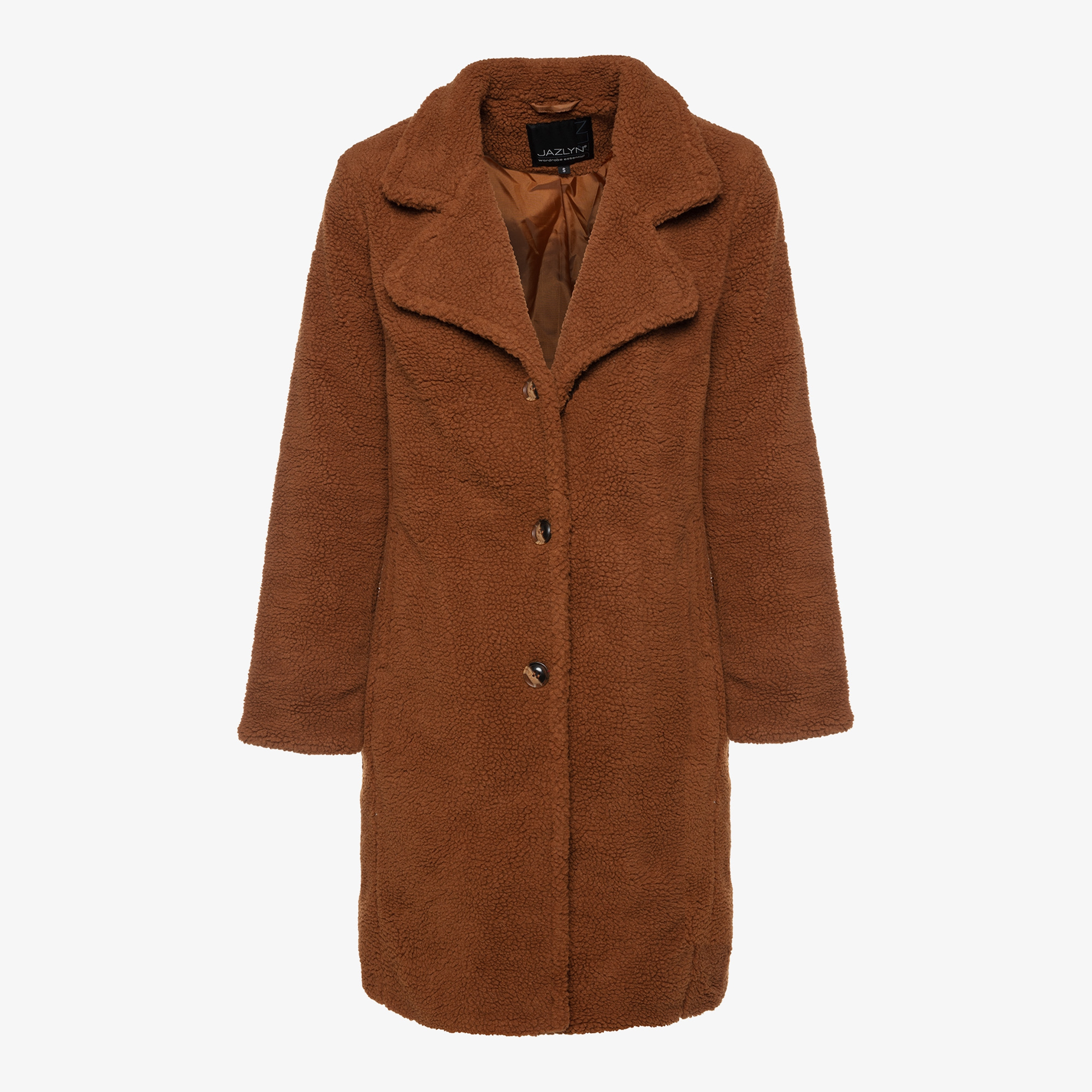 Jazlyn dames teddy coat